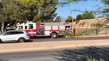 Crews on scene of apartment fire in west El Paso