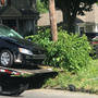 Police car-involved crash in Syracuse sends two to the hospital with minor injuries
