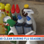 Cleaning crews see influx in calls due to record breaking flu season