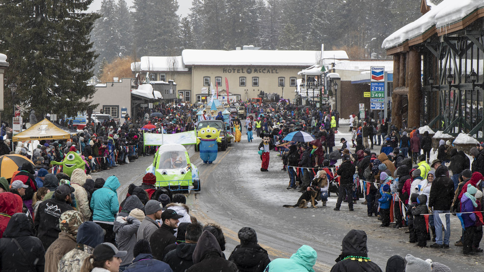 The McCall Winter Carnival is in full swing
