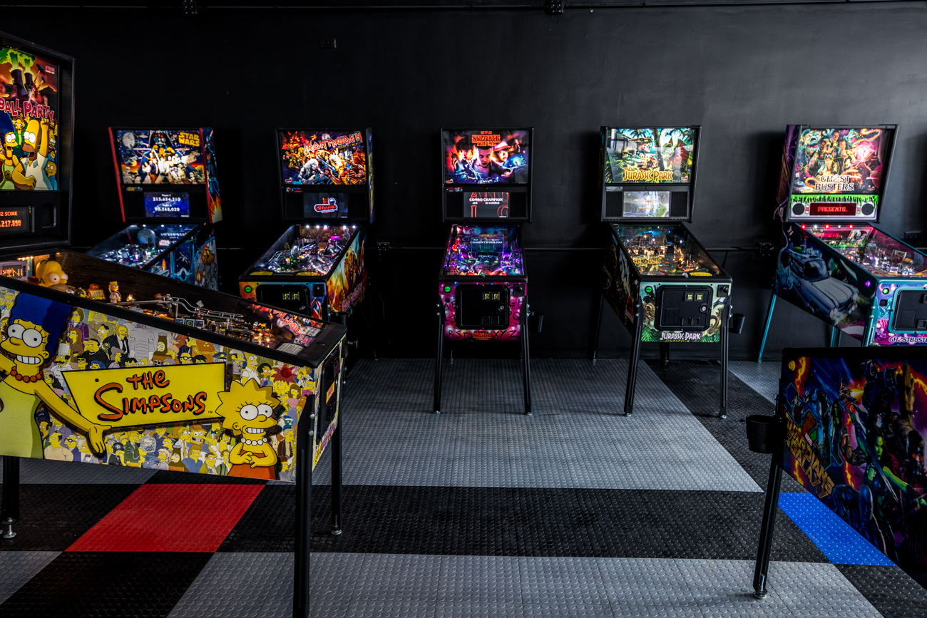 The Pinball Garage opened in June 2020 in Hamilton for gamers and pinball enthusiasts to play a variety of rare and classic machines. There are dozens of pinball machines and arcade games in excellent condition to choose from, as well as draft beer, soft drinks, and order-in food service from the nearby All8Up Pizza & Hoagies. They plan to offer cocktails and a full bar, as well. The machines have been properly spaced to allow for social distancing. ADDRESS: 113 N. 3rd Street (45011) / Image: Catherine Viox // Published: 7.11.20