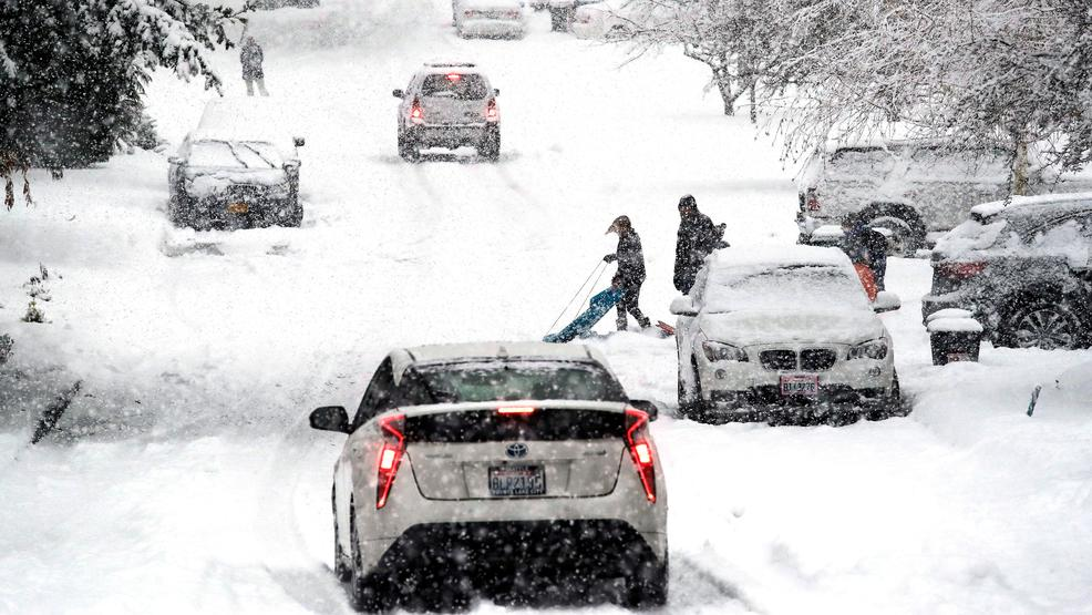 90,000 lose power as yet another winter storm brings snowy, slushy