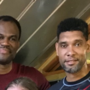 LOOK: Spurs legends Duncan, Robinson continue their martial arts training