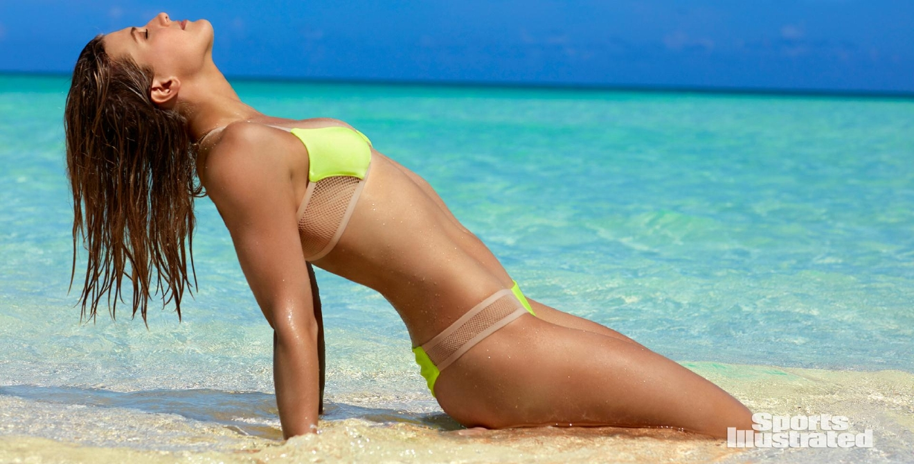 TK Photographer/SPORTS ILLUSTRATED                                                    On sale now                                                                                                        SI.com/Swimsuit.                                                                                                        Swimsuit: 2017 Issue: Portrait of Genie Bouchard during photo shoot.                                                    Turks & Caicos Islands 9/12/2016                                                    CREDIT: Emmanuelle Hauguel
