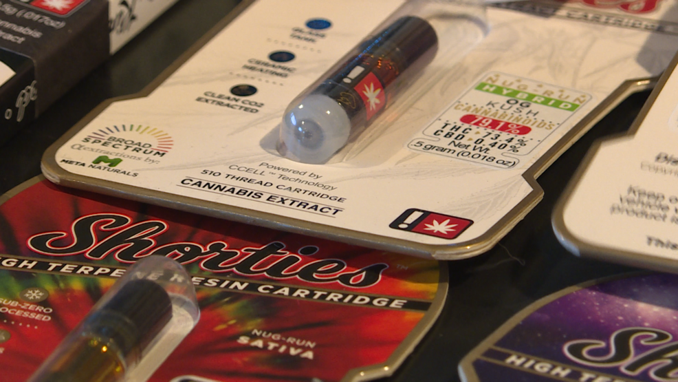 Local dispensary pulls vaping products from shelves | KTVL