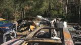 Night watchman killed in blaze at logging camp