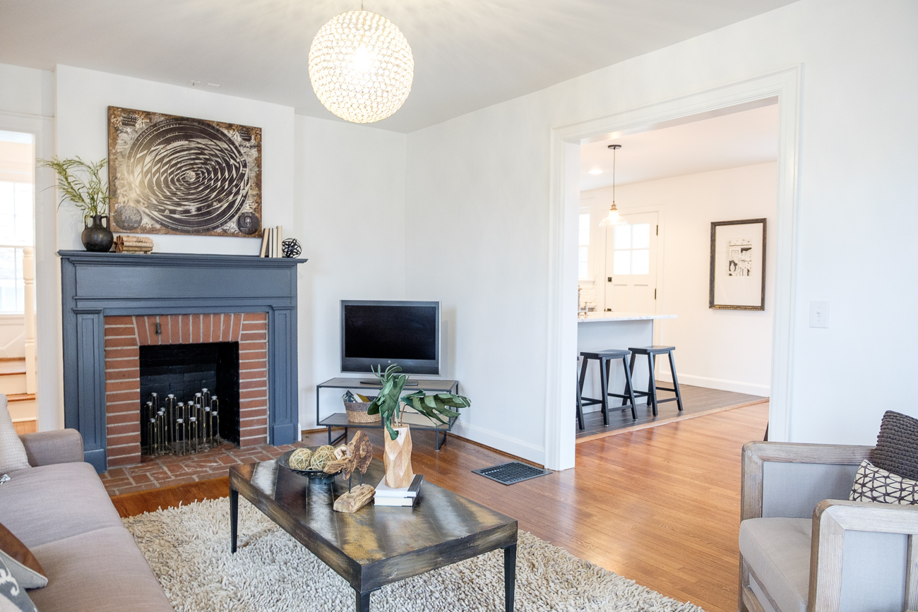 Flipping Cincy recently transformed a 1920s colonial-style house in Pleasant Ridge into a beautiful modern adobe. ADDRESS: 3440 Woodford Road (45213) / Image: Daniel Smyth // Published: 2.13.18