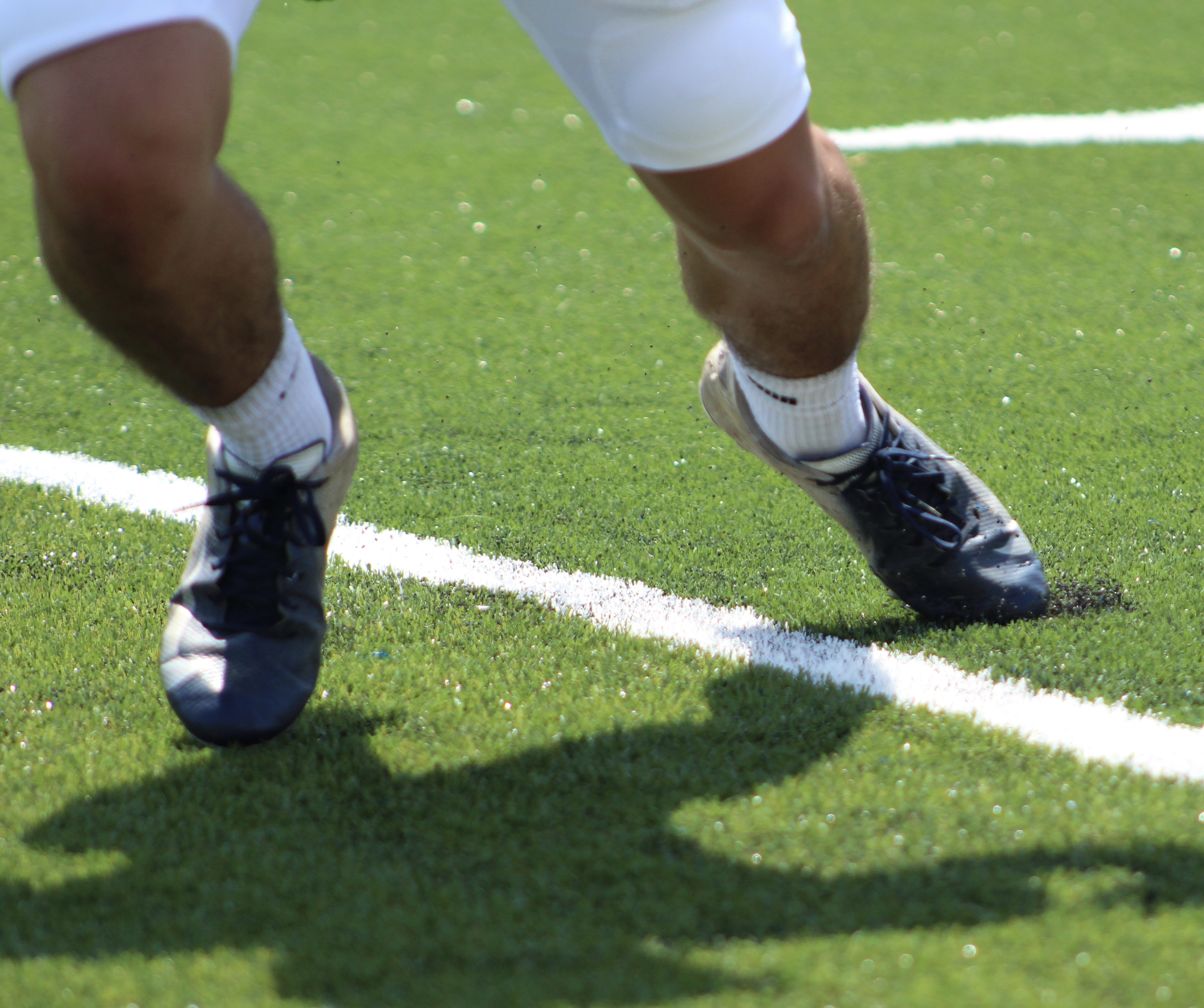 "A Norwin High School football player cuts on the brand new turf during an August practice.{&nbsp;}Watch the AHN Friday Night Rivals powered by IGS Energy ""Kickoff Special"" Aug. 23 at 7 p.m. on 22 the Point.<p></p>"