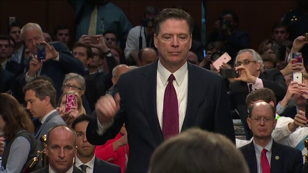 WATCH: Full opening statements from Comey's Senate hearing Thursday, June 8, 2017. (CNN Newsource)Thumbnail
