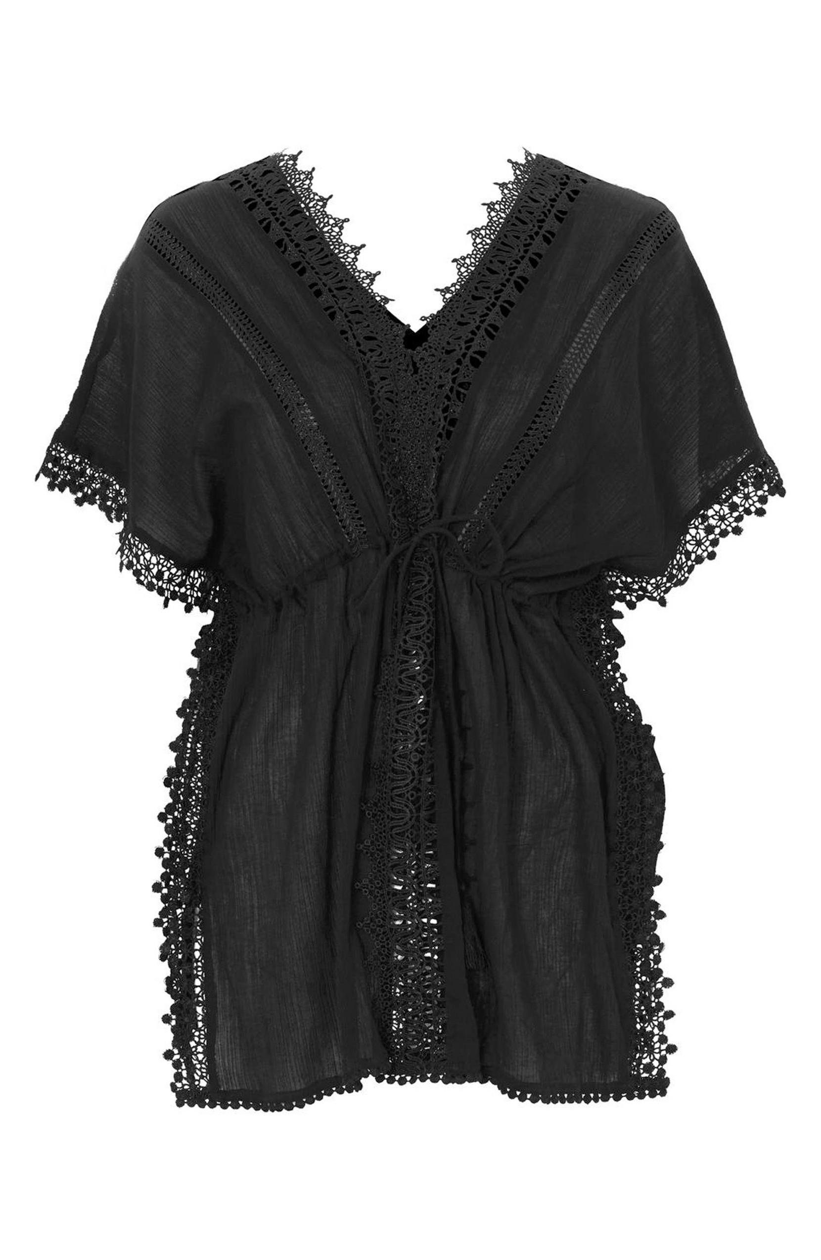 This V-Neck Cover-Up Caftan was $60.00<p>and is now $42.00. This is your new go-to swim cover up!</p><p>(Image: Nordstrom)</p>