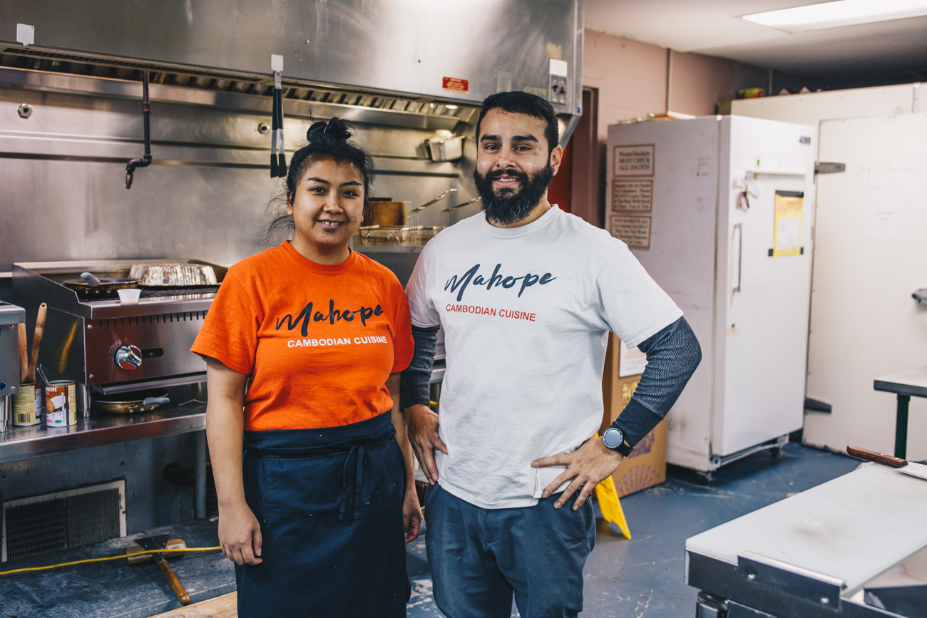 Owners Vy Sok and Mike Laguna / Image: Catherine Viox // Published: 2.24.19