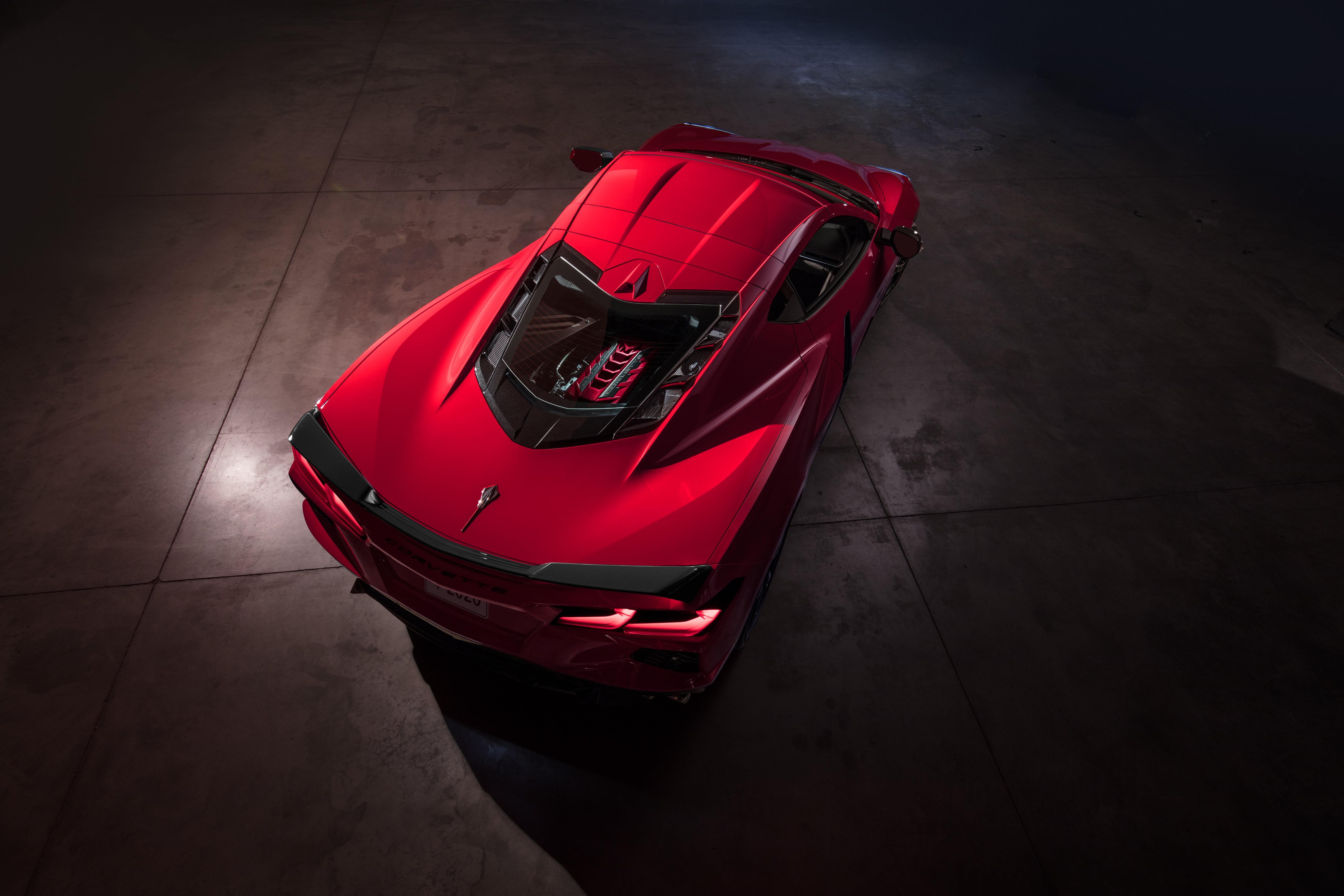 2020 Chevrolet Corvette General Motors Finally Unveils C8 Mid