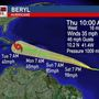 Hurricane Beryl is the first hurricane of the 2018 season