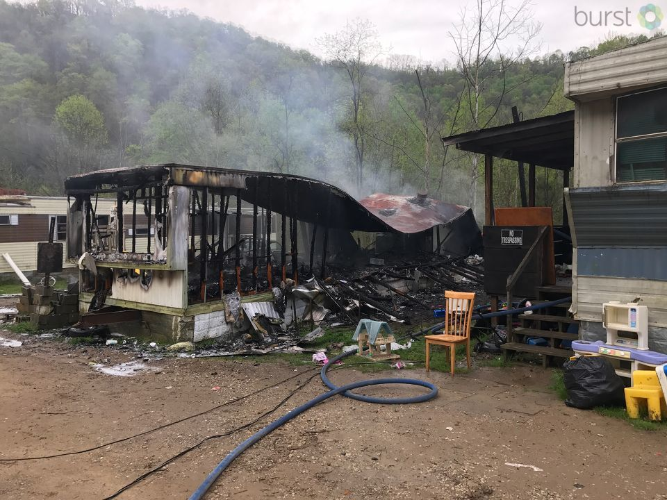 The fire started in one mobile home, which resulted in a total loss, officials said. The fire spread to a mobile home next door as well, which resulted in minor damage. No one was injured in the fire, officials said. (WCHS/WVAH)