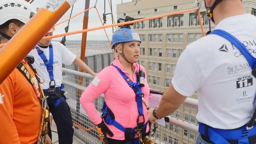 Reaching new heights: Meteorologist Kimberly Newman goes