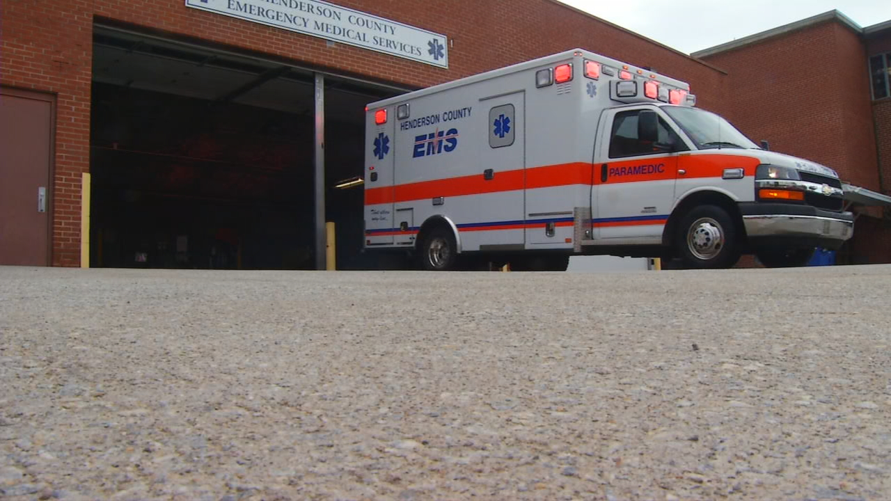 Almost every day, Henderson County paramedics respond to frantic calls, people asking for help after a friend or relative has taken too many drugs.  Now, most responders carry the drug Narcan, which can reverse the effects of an overdose and save a life.  (Photo credit: WLOS Staff)