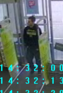 Police searching for retail fraud suspect. (Photo from Midland Police)