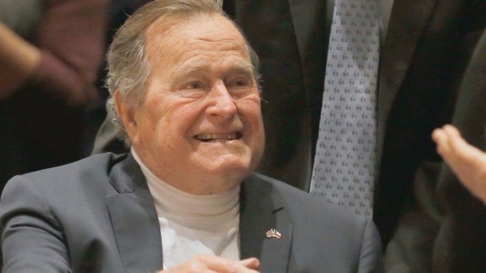 George H W Bush Celebrates 93rd Birthday Wgme