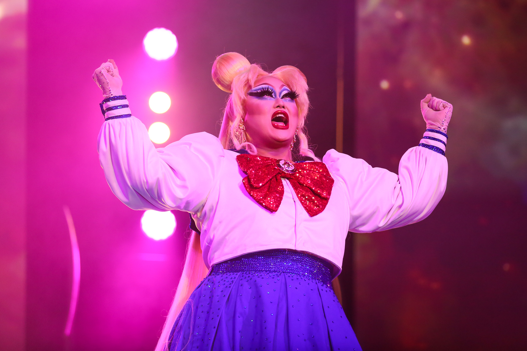 Kim Chi, who appeared in season eight of 'Drag Race'.{ }(Amanda Andrade-Rhoades/DC Refined)
