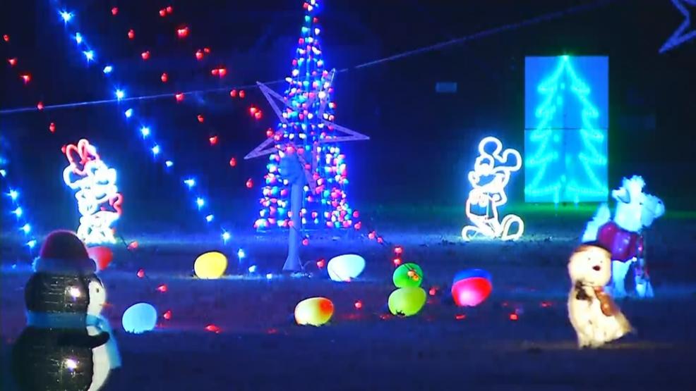 Charlestown man's holiday light display sparks controversy - Charlestown Man's Holiday Light Display Sparks Controversy WJAR