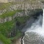 Emergency responders search for missing swimmer at Palouse Falls