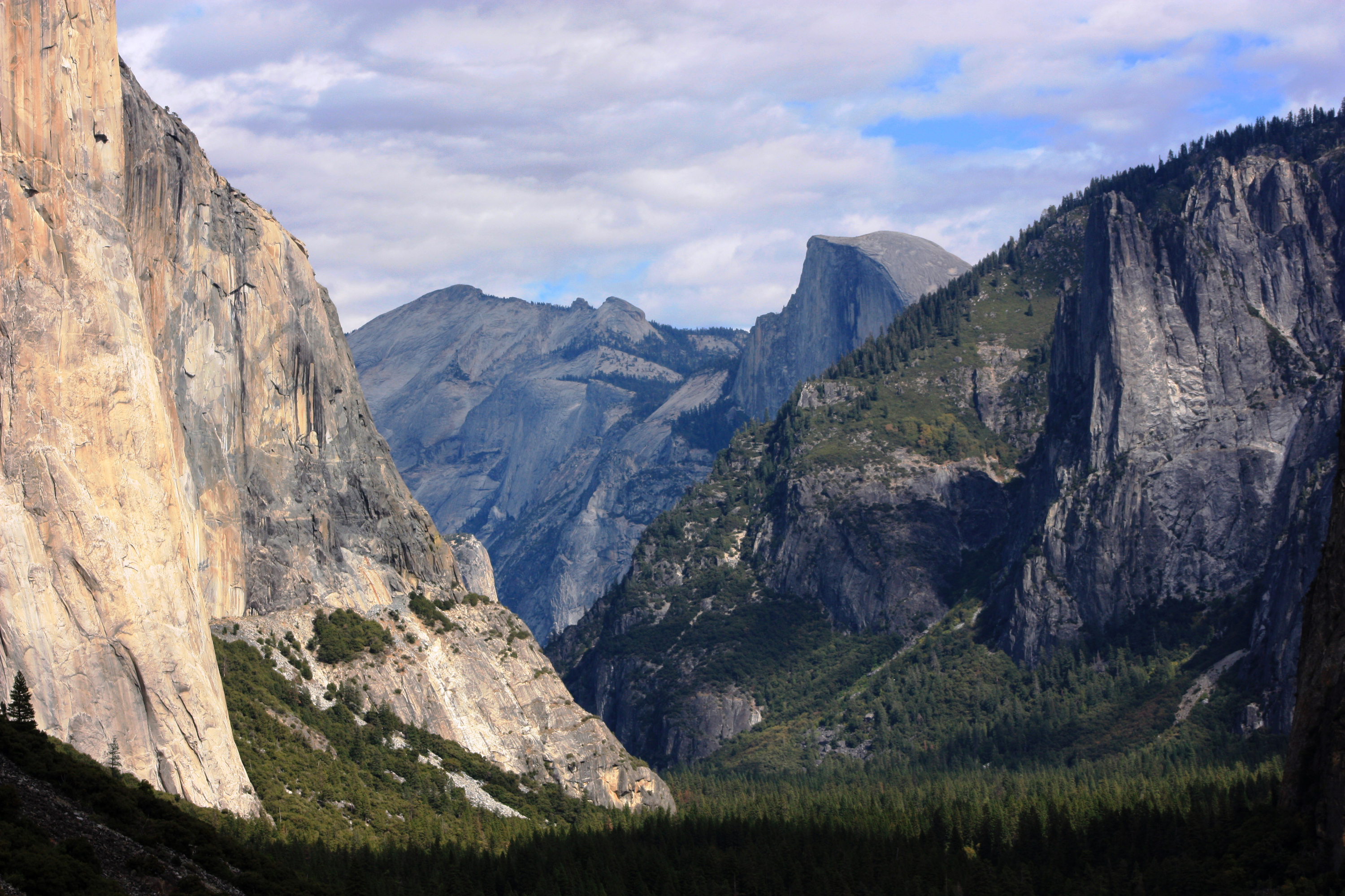 This Oct. 2, 2013, file photo, shows a view seen on the way to Glacier Point trail in the Yosemite National Park, Calif. The National Park Service is floating a proposal to increase entrance fees at 17 of its most popular sites next year. (AP Photo/Tammy Webber, File)<p></p>