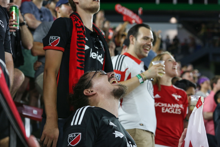 DC United faced off against the Vancouver Whitecaps for their inaugural game at Audi Field, which ended in a 3-1 victory. More than 20,000 fans cheered on the home team and their new superstar, Wayne Rooney. Rooney is a legend in the United Kingdom, where he largely played for Manchester United. The hotly-anticipated Audi Field opening was sold out, but those lucky enough to score tickets were able to snack on bites from Jose Andres and enjoy the festivities. (Amanda Andrade-Rhoades/DC Refined)