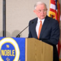 Attorney General Jeff Sessions speaks in Birmingham