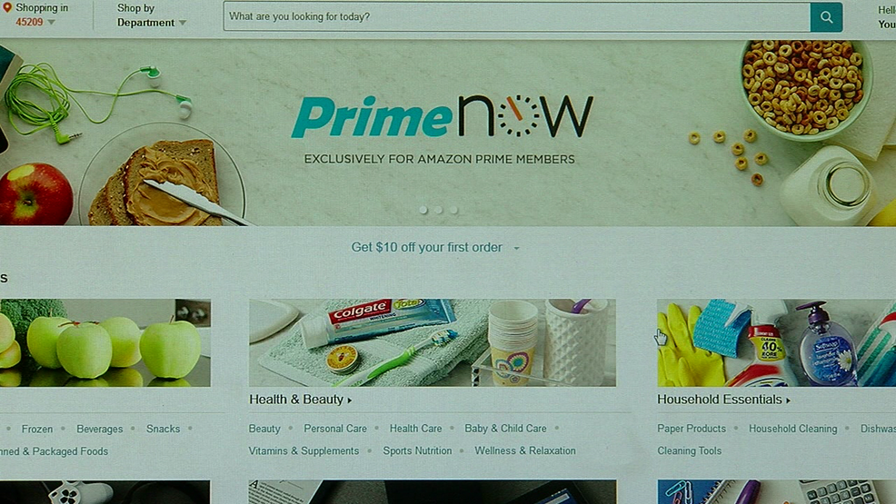 amazon launches free 2 hour delivery from whole foods in cincinnati wkrc. Black Bedroom Furniture Sets. Home Design Ideas
