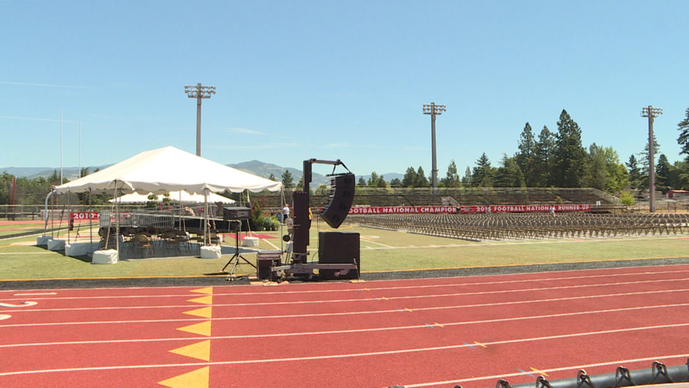 Southern Oregon University's graduation expects 4 to 5 thousand people to attend