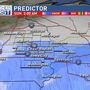 Snow to move back into eastern Iowa Saturday night