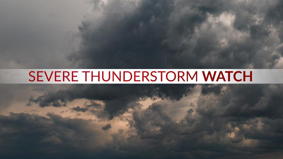 Severe Thunderstorm alerts issued for all of CNY | WSTM
