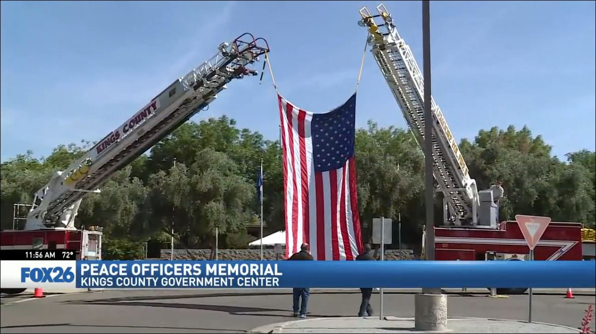 Peace Officers Memorial Ceremony in Hanford