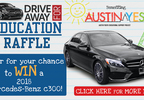 Drive Away For Education Raffle for a Mercedes-Benz!