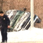 Two injured in morning rollover caused by slick conditions