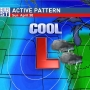 Cool and rainy through the weekend