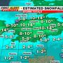 WSBT 22 First Alert Weather: Winter storm bringing down heavy snow