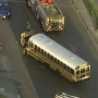 Students, bus monitors avoid injury following early morning bus crash