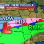 Possible wintry weekend: the setup we're watching