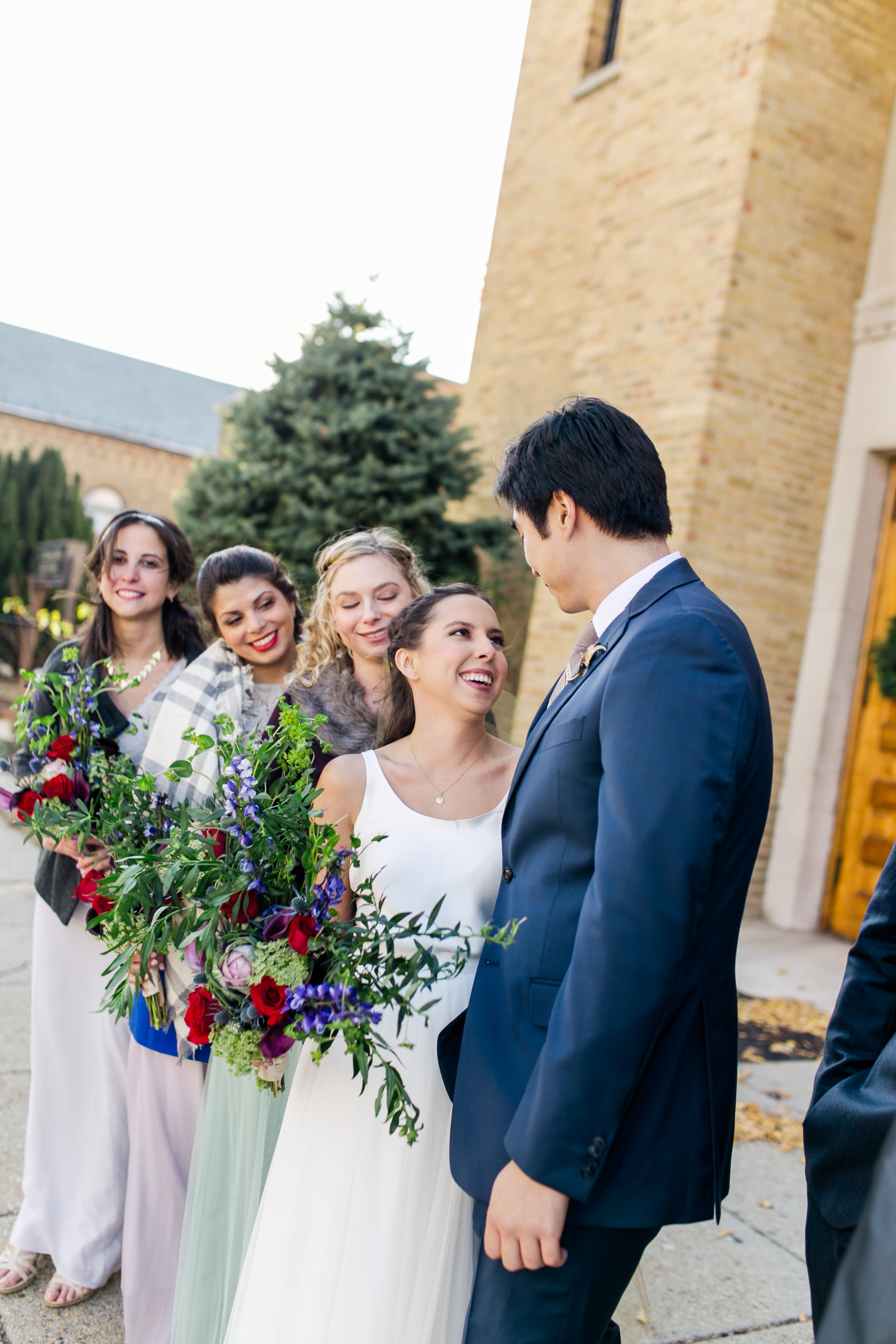 Stephanie was really waffling over whether to get a professional photographer for the wedding due to budget constraints. (Image: Brandon C. Photography)