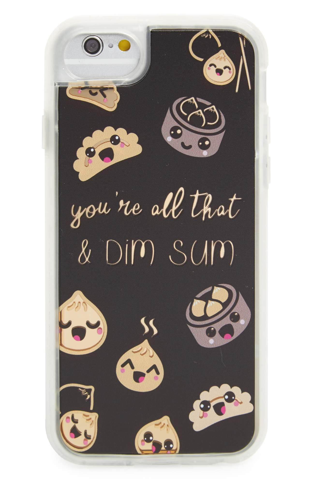 MILKYWAY Dim Sum iPhone Case from Nordstrom // Price: $25// (Nordstrom)<p></p>