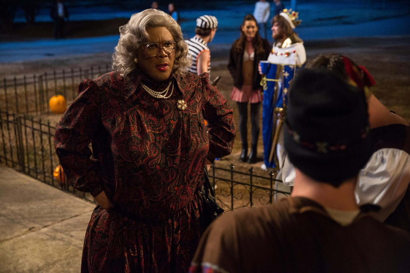 "Tyler Perry stars as 'Madea' in ""Boo! A Madea Halloween."" (Photo: Guy D'Alema)"