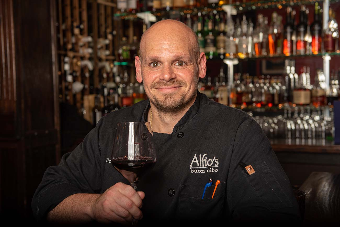 Owner and chef Alfio Gulisano from Buenos Aires, Argentina{ }/ Image: Joe Simon // Published: 6.25.20