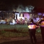 N. Austin mobile home fire leaves family homeless, kills 2 dogs