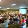 More than 500 show up to anti-wind turbine meeting