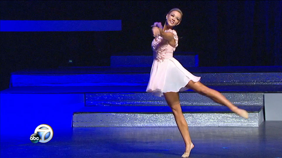 Miss Arkansas talent portion: Claudia Raffo Dance (Photo: KATV)