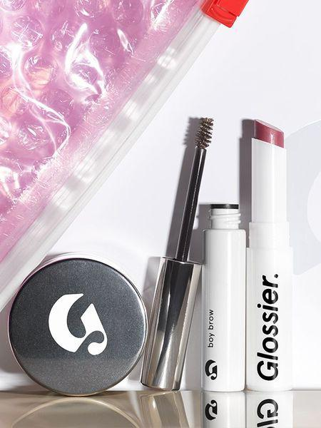 Mom always said to lay your outfit out in advance. We like that rule, but we think it's way cooler to streamline your makeup routine. Glossier has you covered – we've always been fans of the brand's cool-girl look, but one of our favorite things is how low maintenance the whole line is.  (Image: Glossier)
