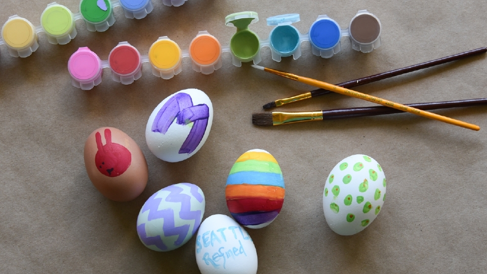 10 Clever Ways To Decorate Easter Eggs