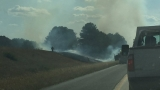 PHOTOS: Birmingham firefighters battle grass fire off I-459 near Acton Road