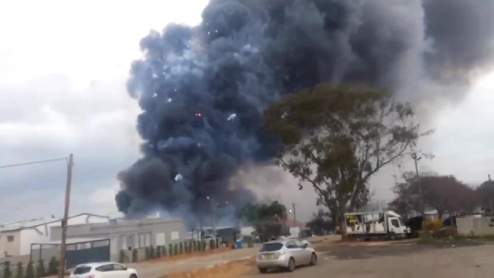 Video Fireworks Factory Explosion Kills 2 Wjar